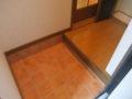 タウンズ永山C棟101号室玄関