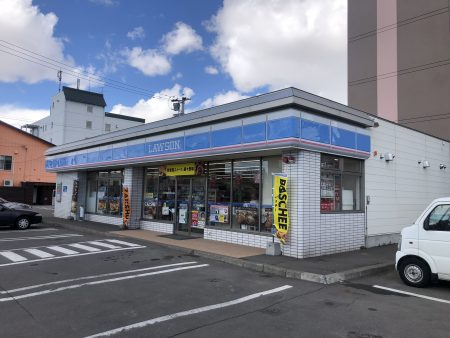 ローソン旭川大町3条店